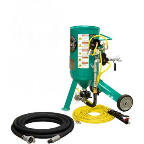 Small Portable Sandblaster Pirate Brand CPR Jr. .5 Cu. Ft.