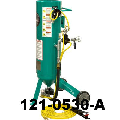 Small Portable Sandblaster 1.0  Cu. Ft. Pirate Brand CPR Jr.
