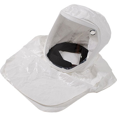 RPB T-Link Respirator,Tychem QC (2000) hood with ANSI Z87 + safety Lens, Bump cap ( NIOSH APPROVAL NO. TC-19V-537 TYPE C )