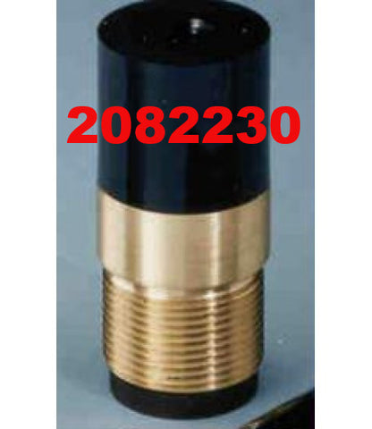 "Sandblasting Nozzle Short Straight with 1-1/4"" NPT."