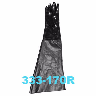 Sandblast Gloves right hand only with ranchide sleeve.