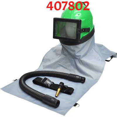 Astro Sandblast Helmet with Breathing Pump