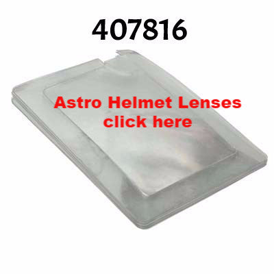 Astro Sandblasting Helmet Lenses made by RPB.