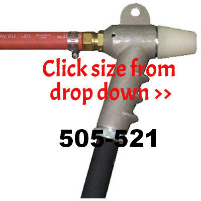 Sandblasting gun with ceramic nozzle hand held 3
