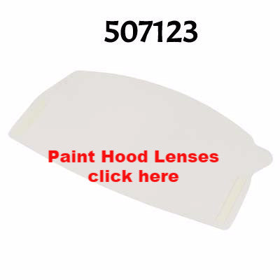 Paint Hood Replacement Lenses or Tear Offs