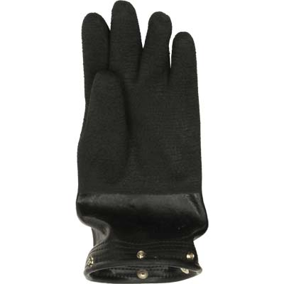 Retractable ergonomic sleeves with snap on gloves. Up to 12""