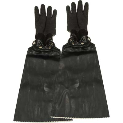 Snap Gloves for Sandblasting Cabinet
