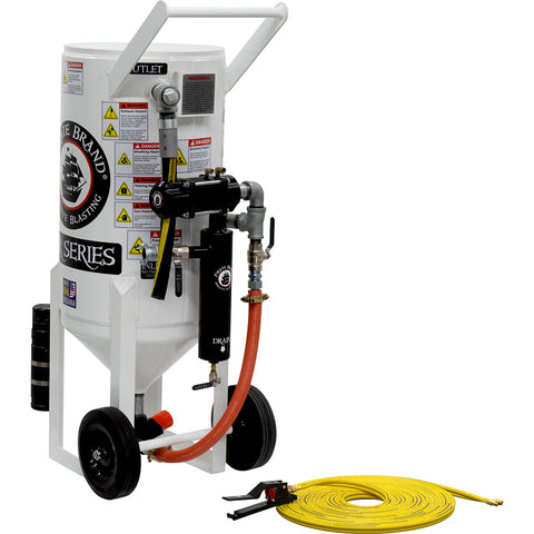 Sandblasting Equipment 3.5 cu.ft. Pressure Release (350 pound)