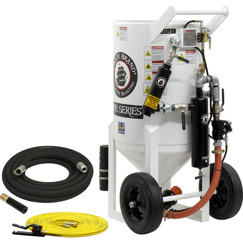 Sand Blasters 6.5 cu.ft. Pressure Hold Style (650 pound)