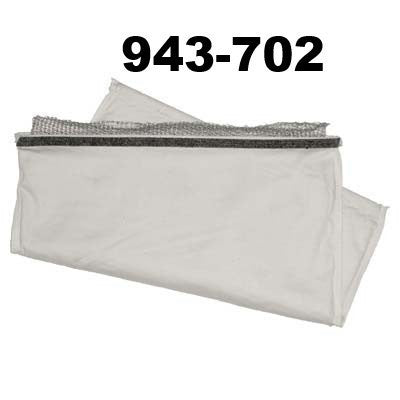 Envelope Style Dust Bag for Sandblasting Equipment,
