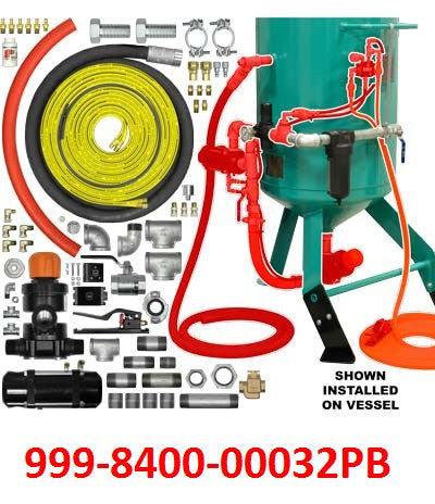 Sandblaster Conversion Kits