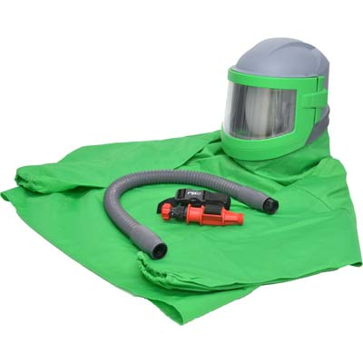 Nova 3 Sandblast Helmet with Hot Tube