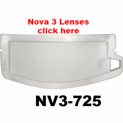 Sandblasting Helmet Lenses for Nova 3