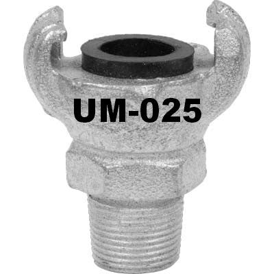 Air Hose 2 Lug Male Thread Connector