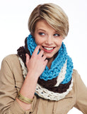 Free Crochet Pattern Tri Color Cowl