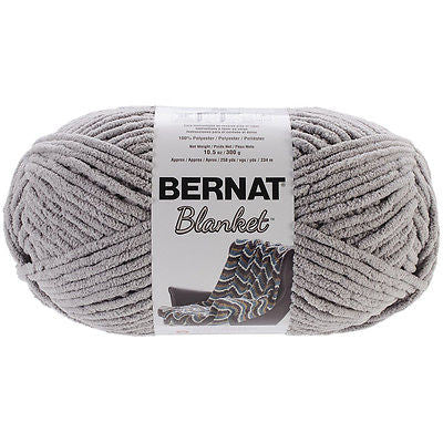 bernat blanket yarn pale grey