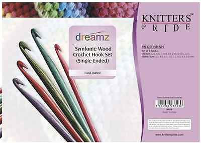 Knitters Pride Dreamz Symfonie Wood Crochet Hook Set