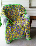 crochet pattern easy afghan bernat yarn