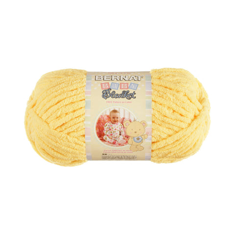 bernat baby blanket yarn baby yellow