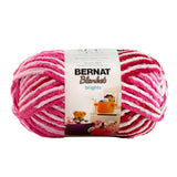 bernat blanket yarn raspberry ribbon