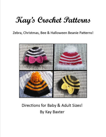 crochet patterns baby beanie hats