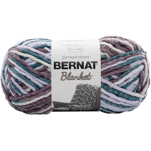 Bernat Blanket Yarn Elderberry 300 Gram Skeins