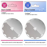 Kay's Crochet Edge Skip Blades for Fleece and Flannel Set of 2 CroEdge Blades