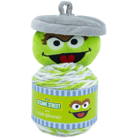 Sesame Street One Hat Wonder Crochet Knit Hat Kits Oscar The Grouch