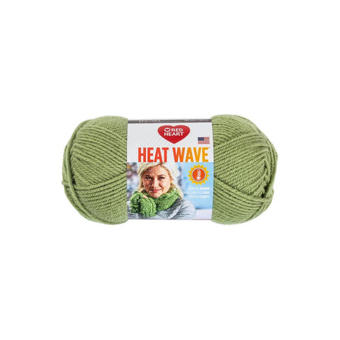 red heart heat wave yarn seaweed