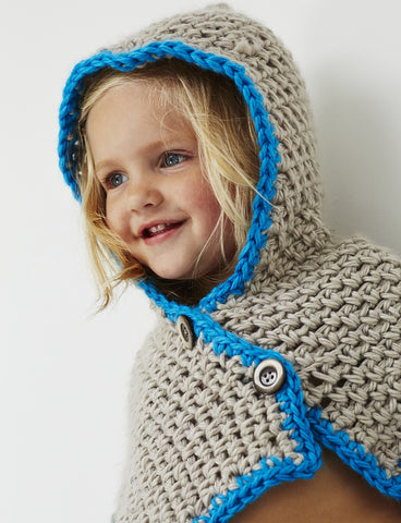 free crochet pattern hooded child's cowl