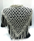 Quick and Easy Crochet Pattern for Love Knot or Solomons Knot Scarf and Shawl