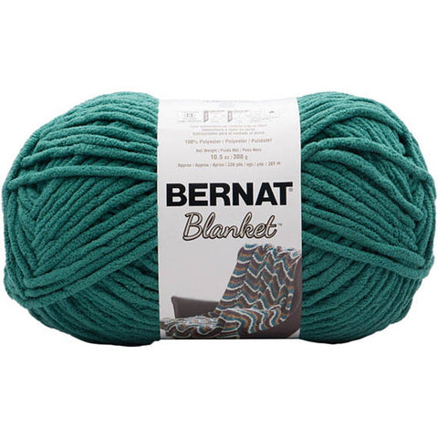Bernat Blanket Yarn Coastal Collection Malachite Green 300 Gram Skeins