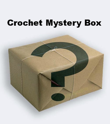 Mystery Box of Crochet Items