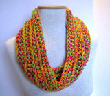 Quick and Easy Crochet Pattern Chunky Cowl and Long Sherbet Scarf Instant Download