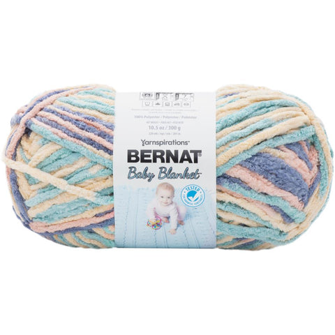 Bernat Baby Blanket Yarn in Succulents