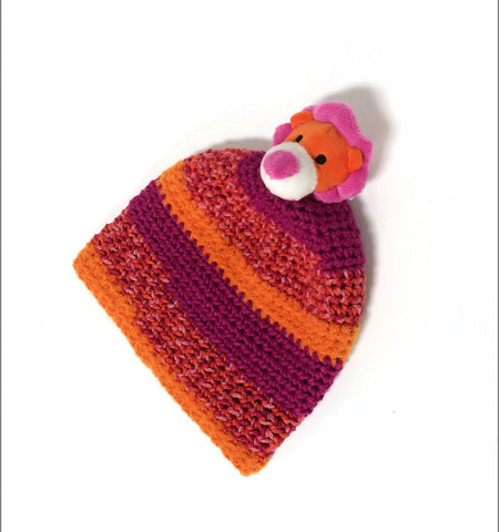 Kay's Free Crochet Pattern for DMC Top This Hat Yarn