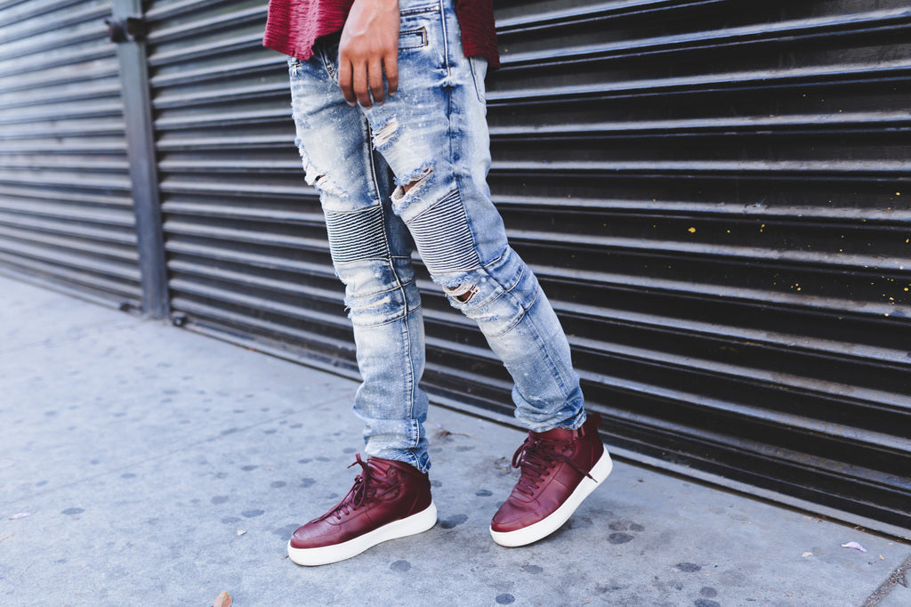 Sandy Biker Denim
