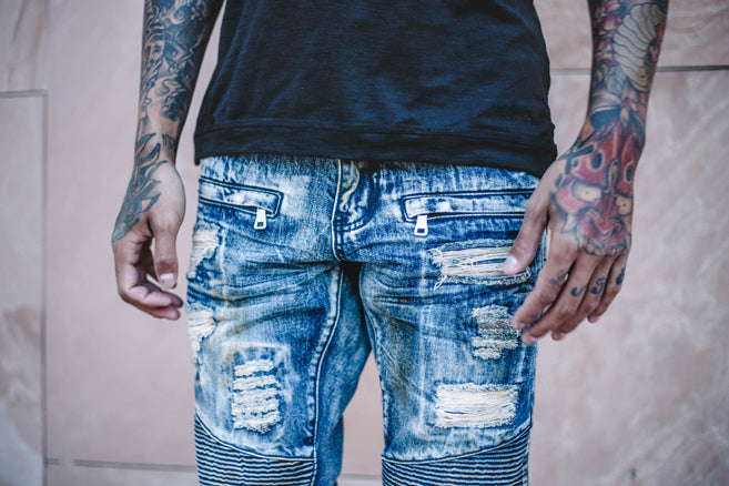 Summer 2016 Vicious Biker Denim