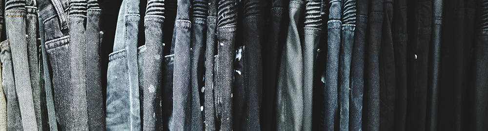 Embellish Black and Grey Denim