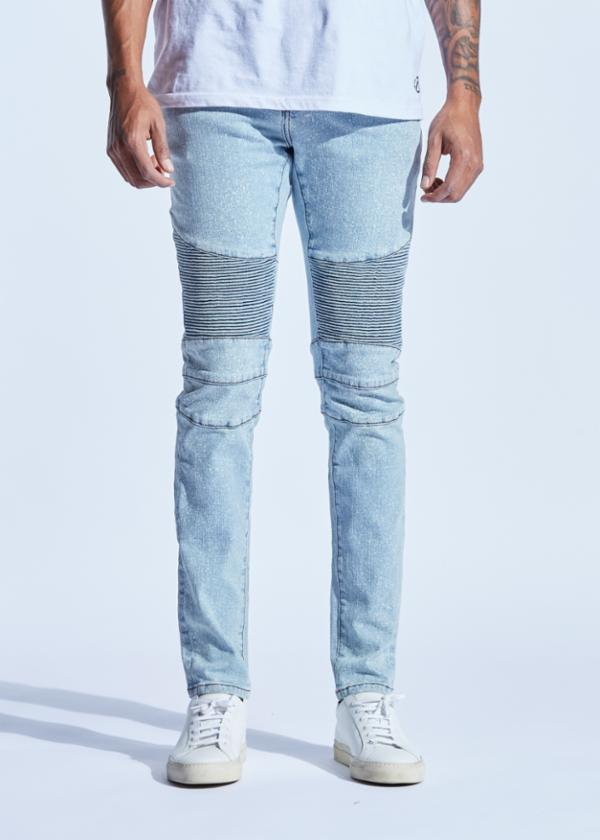 Vogel Biker Denim (Light Indigo)