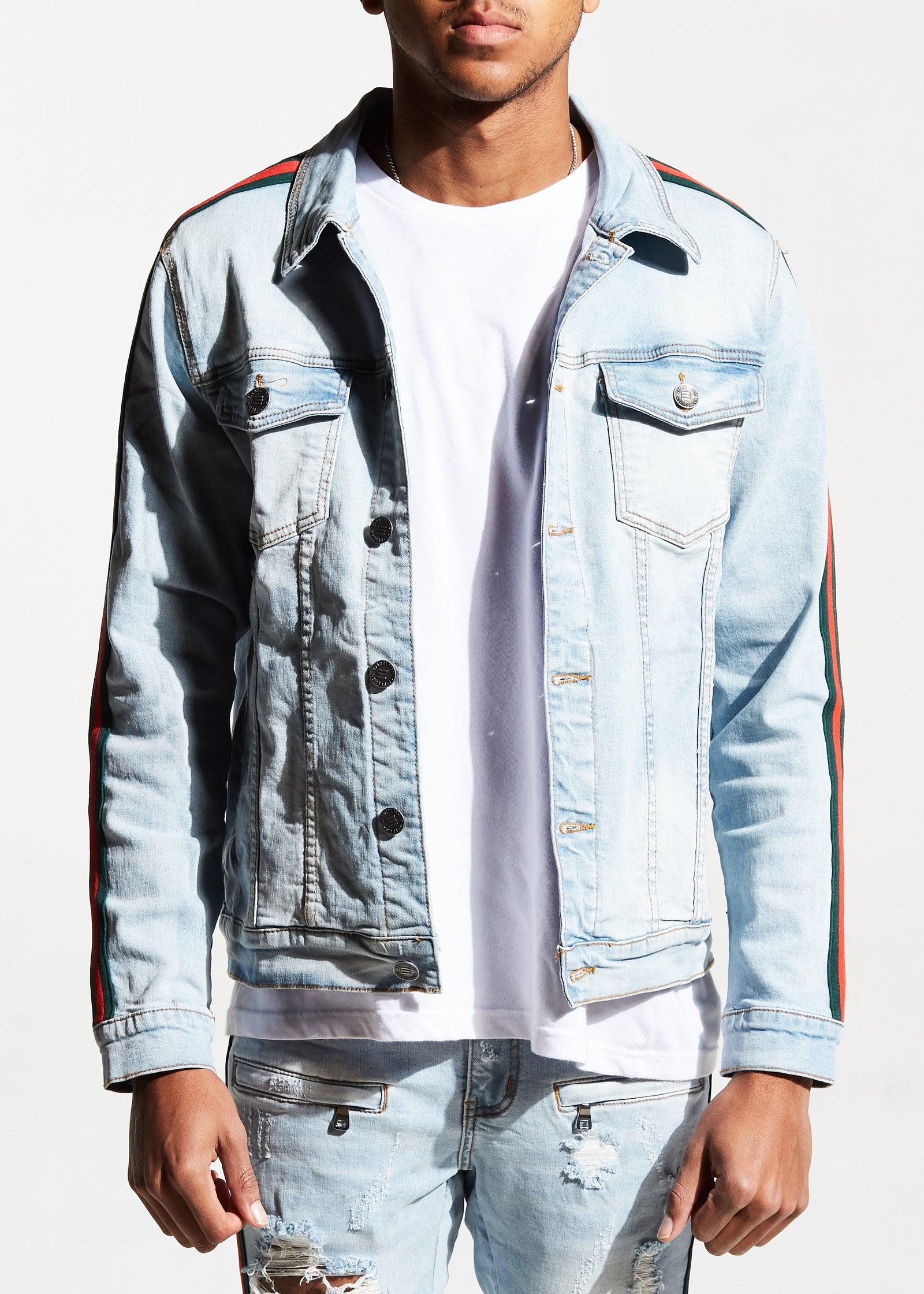 Frederick Jacket (Pale Blue)