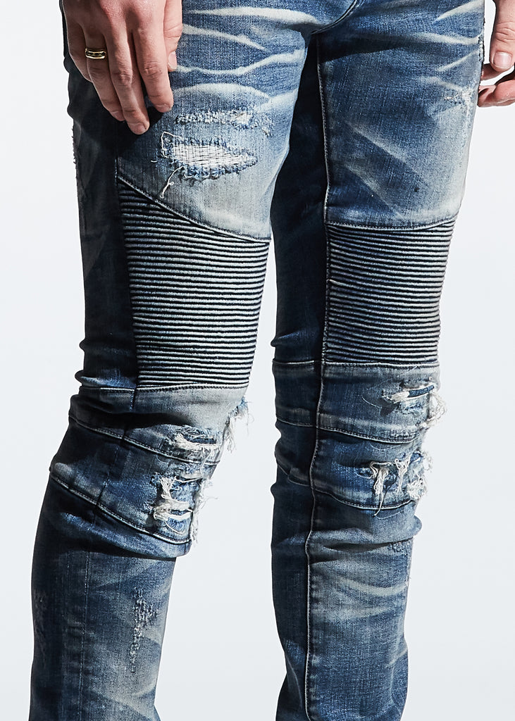 Griffey Biker Denim