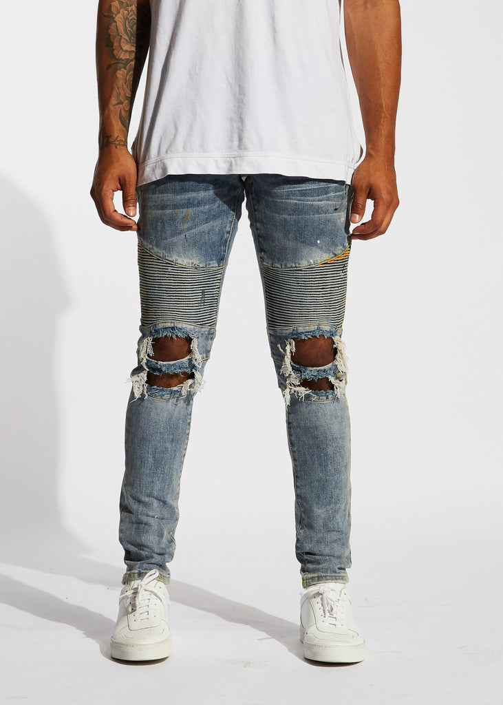 Crabtree Biker Denim