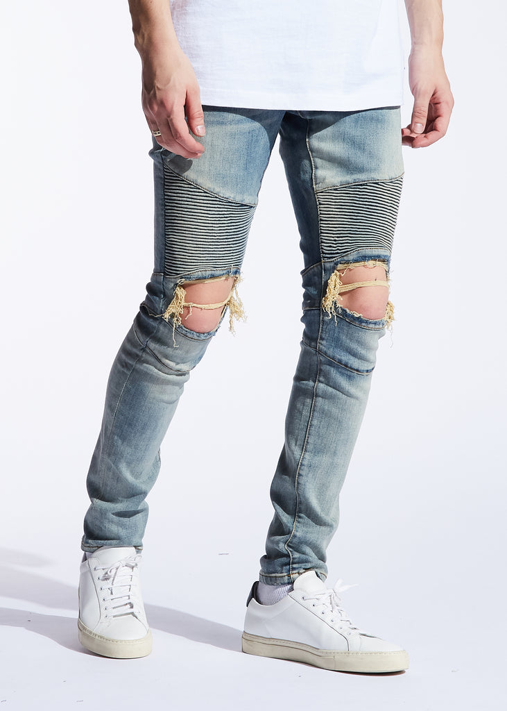 Sloan Biker Denim