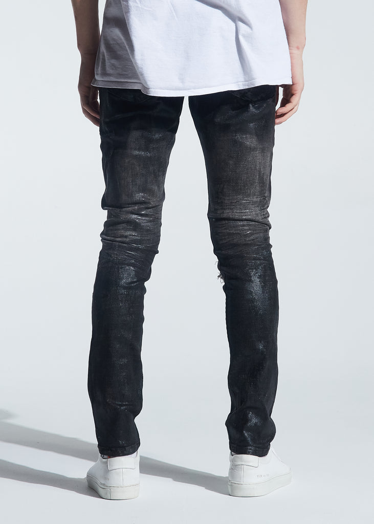 Morant Rip & Repair Denim (Waxed Black)