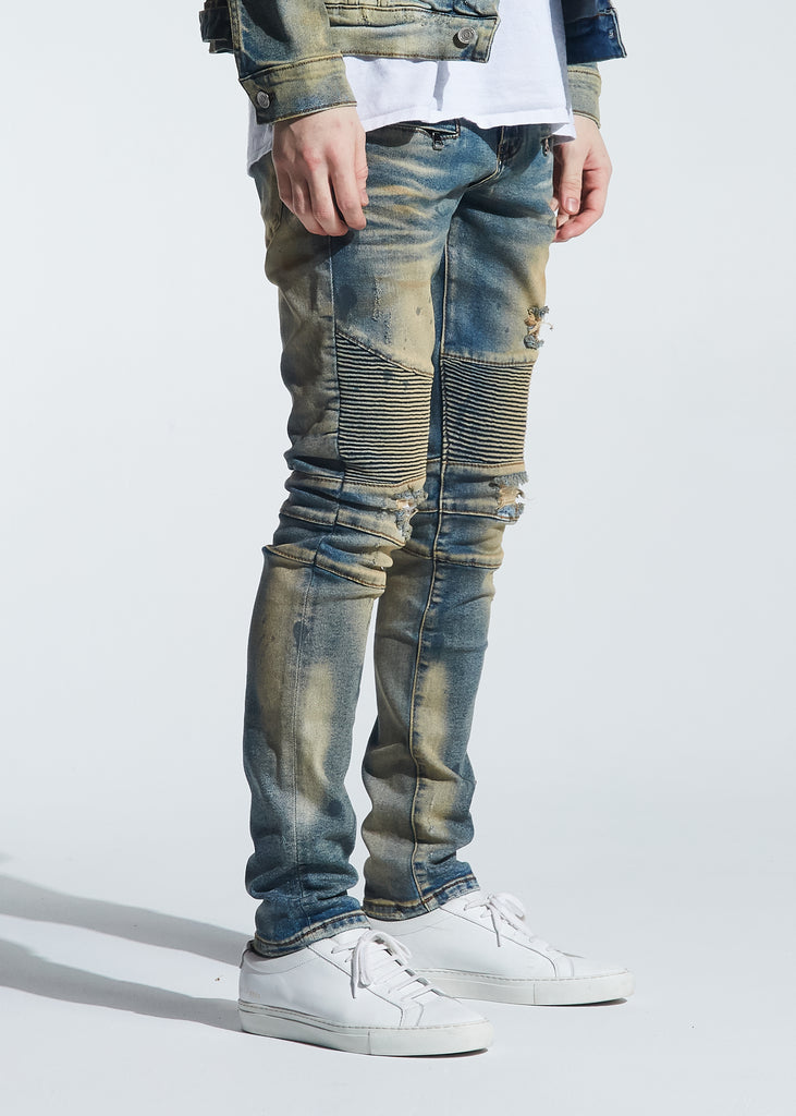 Barrett Biker Denim (Vintage Dirty Wash)