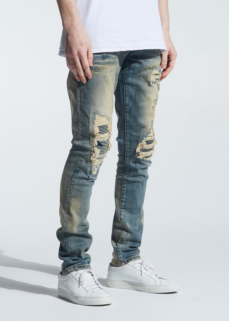 Barrett Rip & Repair Denim (Vintage Dirty Wash)