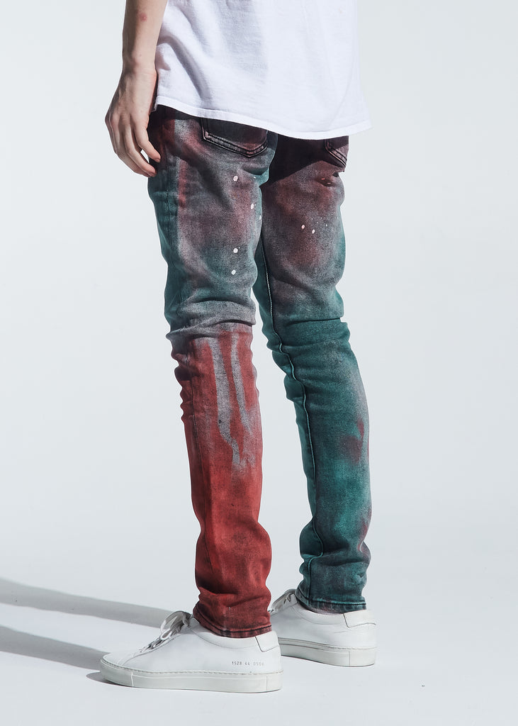 Hunter Standard Denim (Tie Dye Paint Wash)