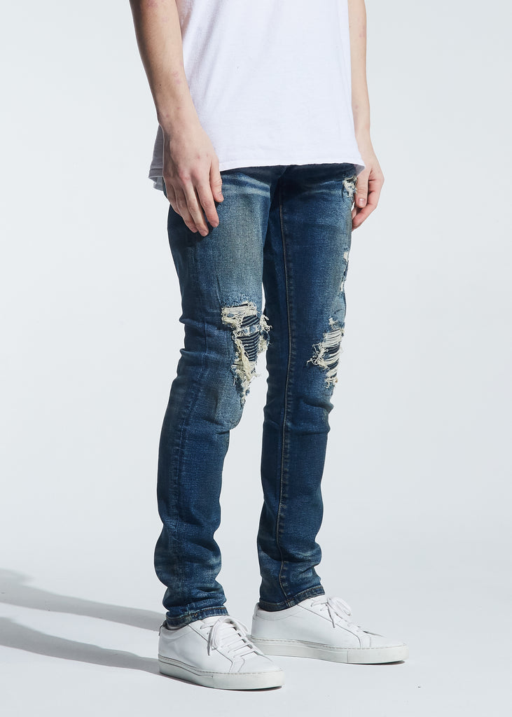 Garland Rip & Repair Denim (Dirty Indigo Wash)