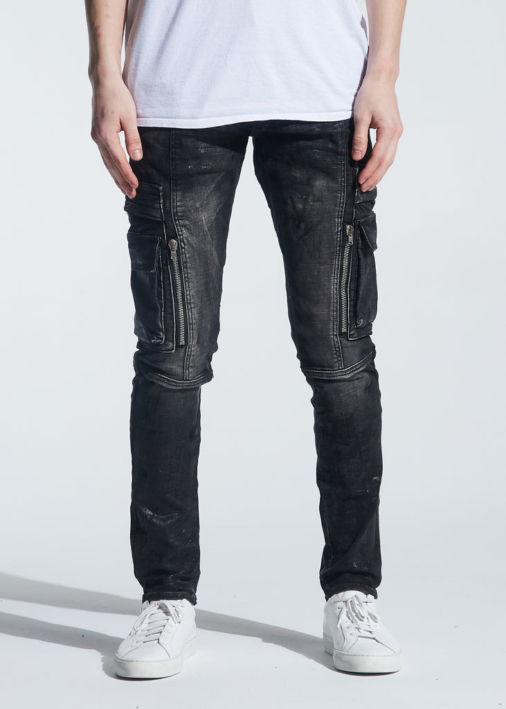 Windler Cargo Denim (Black)